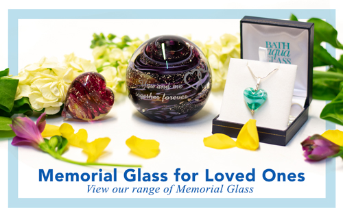 Ashes into Memorial Glass - Loved Ones