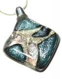 Ashes into silver glass jewellery