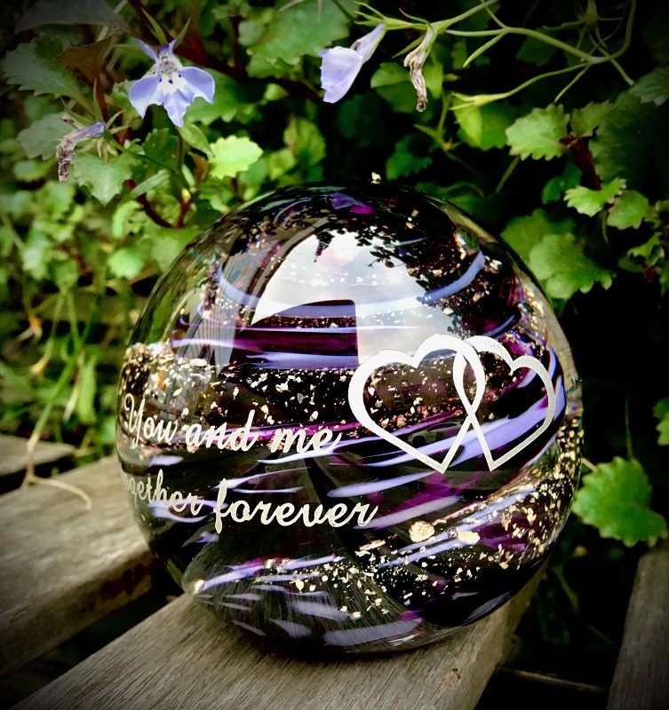 paperweight outside engraved