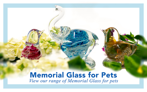 Ashes into Memorial Glass - Pets