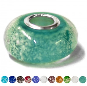 Ashes into Charm Bead