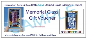 GIFT VOUCHER - Memorial Stained Glass Panel
