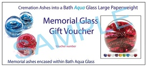 GIFT VOUCHER - Large Paperweight