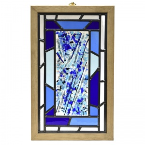 Ashes into Stained Glass Memorial Panel